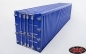 RC4WD 1/14 Metall 40' Shipping Container (blau) (1 Stück)