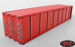 RC4WD 1/14 Metall 40' Shipping Container (rot) (1 Stück)