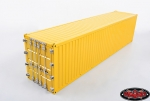 RC4WD 1/14 Metall 40' Shipping Container (gelb) (1 Stück)