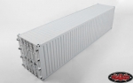 RC4WD 1/14 Metall 40' Shipping Container (grau) (1 Stück)