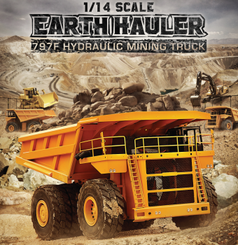 RC4WD 1/14 Scale Earth Hauler 797F Hydraulic Mining Truck VV-JD00020